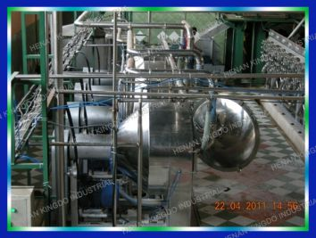 cassava starch production plant machine