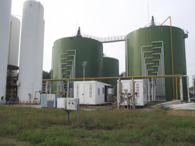 300TPD Animal Manure CSTR Biogas Power Plant CNG Project