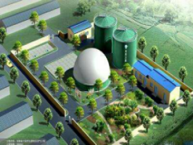 30TPD Organic Kitchen Waste Biogas Plant Project