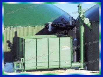 Biogas Power Plant and Biogas Production Technology