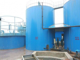 100 TPD corn straw biogas project