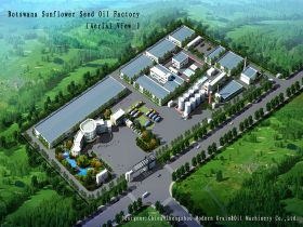 300TPD Sunflower Seed Oil Mill Project